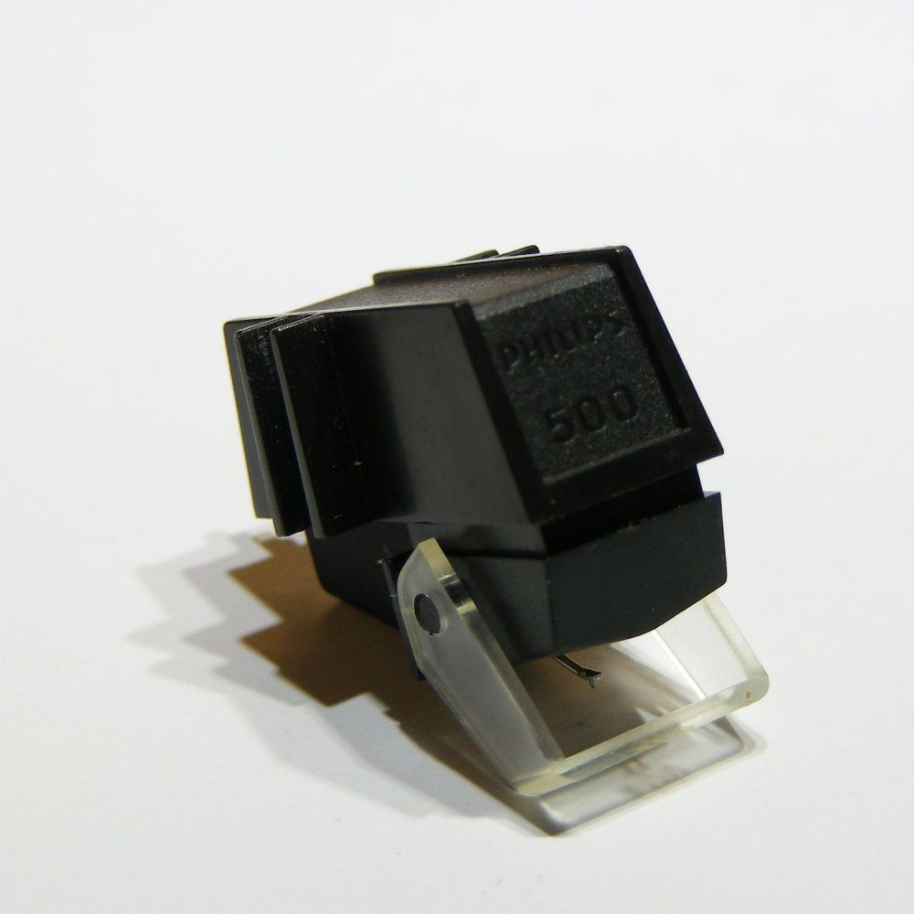 Philips GP500 MkII Cartridge with New Stylus
